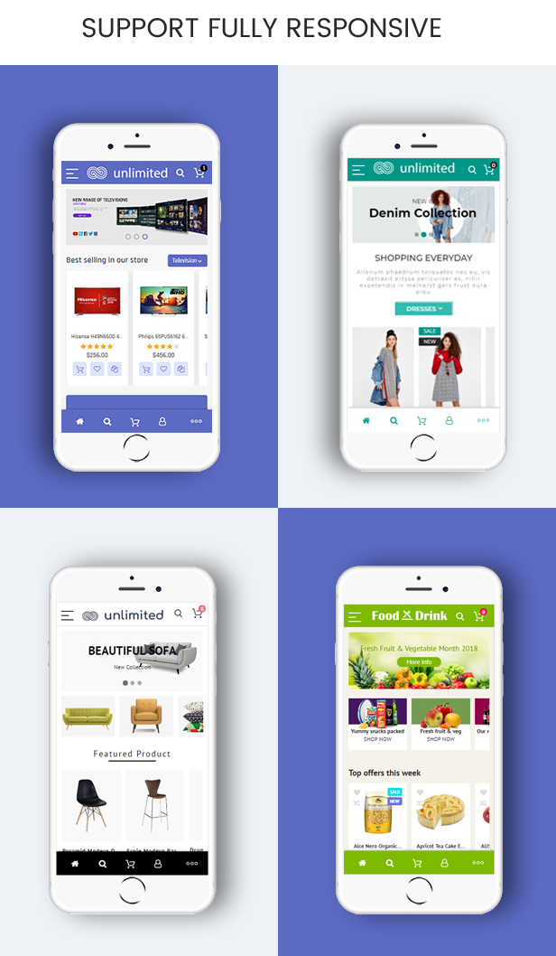 Infinit - Magento 2 & 1.9 Mobile Fully Responsive