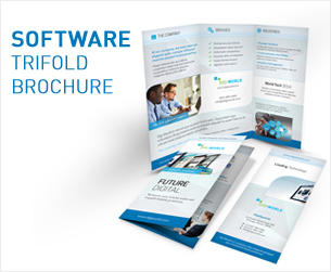IT – Software Trifold Brochure - 2