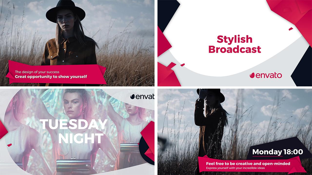 Stylish Broadcast Pack - 6