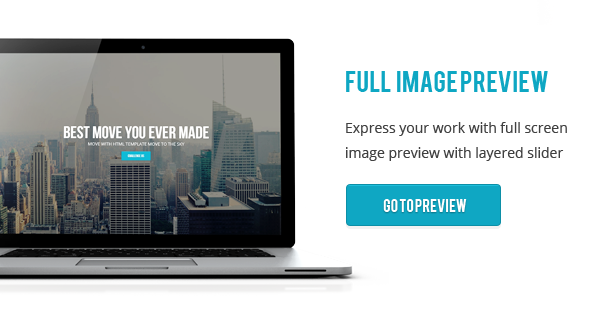 Move - Responsive One Page Parallax Template - 2
