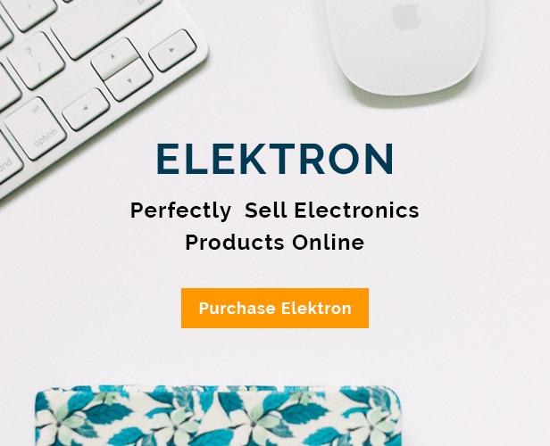 Elektron - Electronics Store WooCommerce Theme - 9