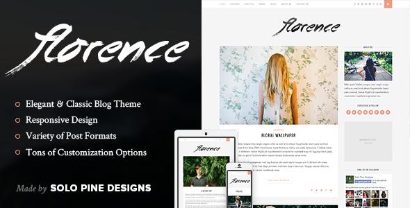 Florence - A Responsive Blog Theme