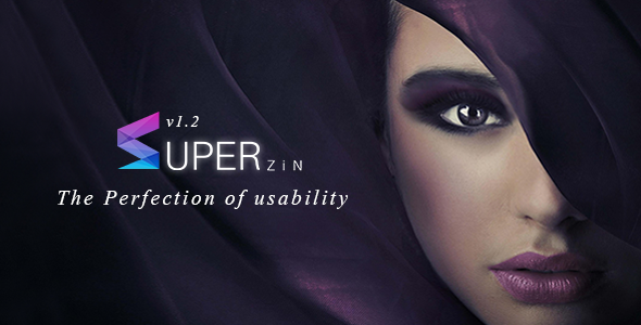 Superzin Responsive Multipurpose Blogger Template