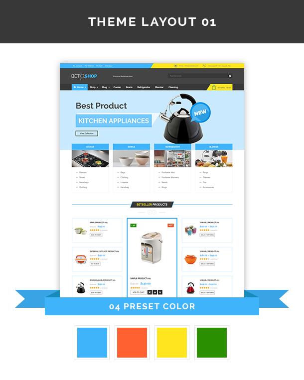 VG BetaShop - Kitchen Appliances WooCommerce Theme - 6