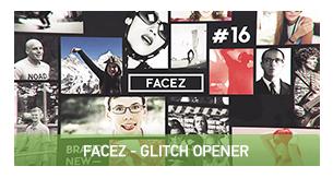 FaceZ Folio - Glitch Opener