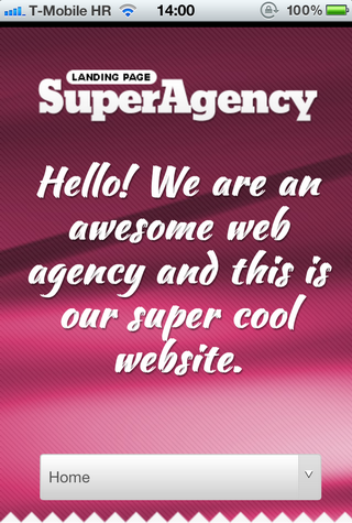 Super Agency on iPhone