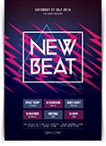 New Beat Flyer