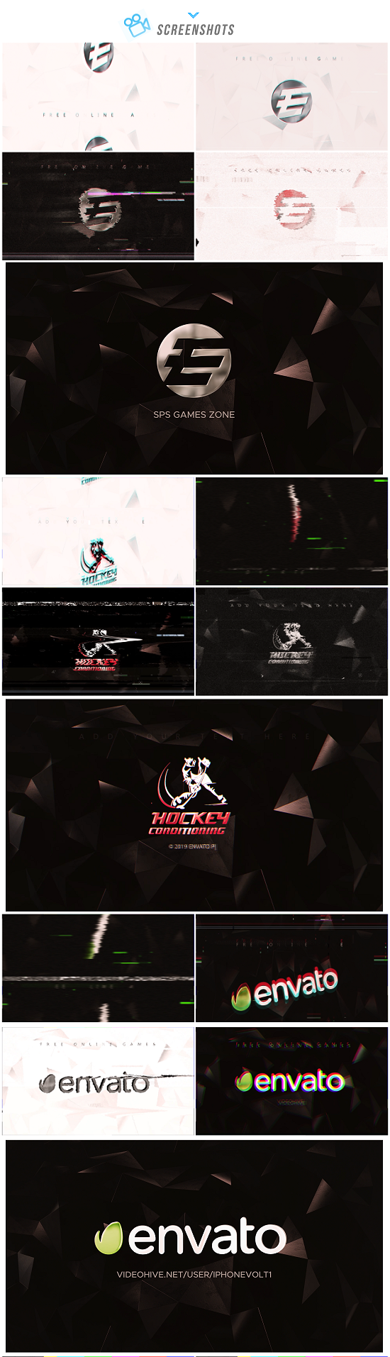 VIDEOHIVE GLITCH LOGO 23365469 - Adobe After Effects
