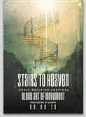 Stairs to heaven Christian
