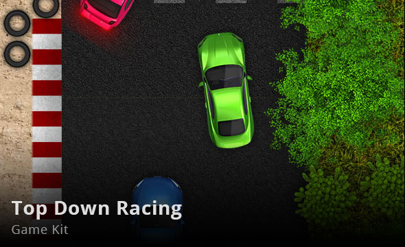 Top Down Racing Game Kit