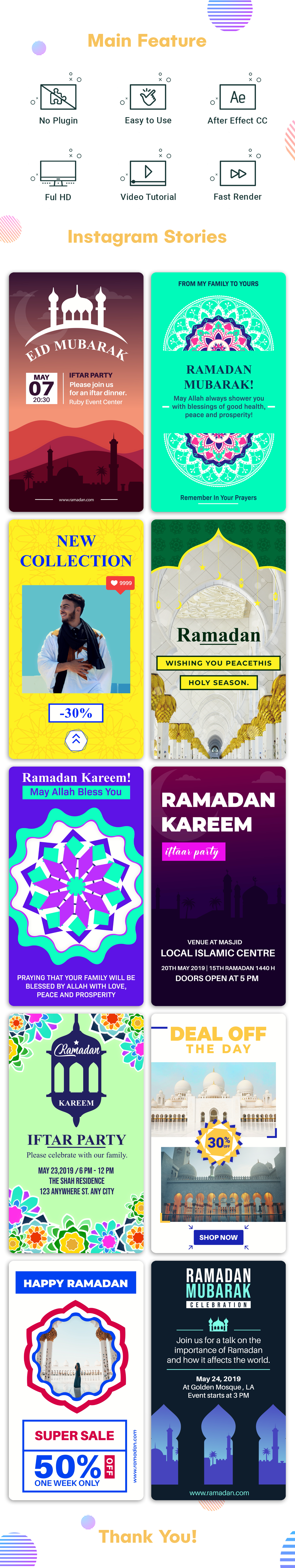 Ramadan Instagram Stories Intro