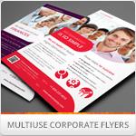 Multipurpose Corporate Flyers, Magazine Ads vol. 2