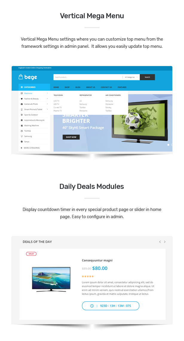 Bege - Responsive WooCommerce WordPress Theme 27