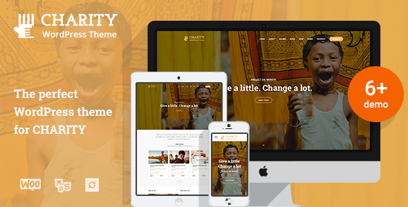 Charity WordPress Theme | Charity WP - Charity Nonprofit