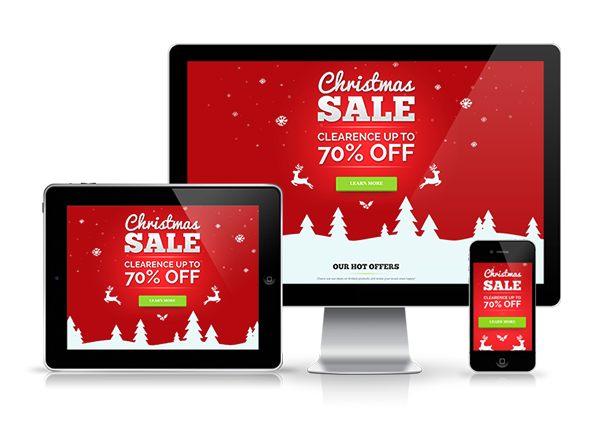 XMuse - Christmas Sale / Promo Muse Template - 1