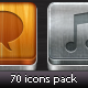 70 icons pack