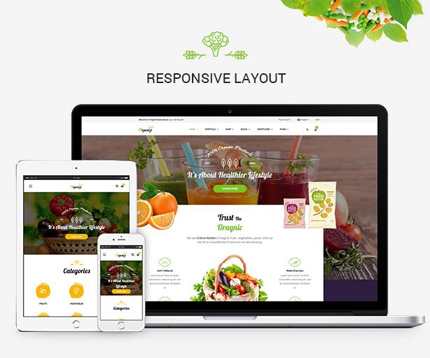 Organiz - An Organic Store WooCommerce Theme - 11