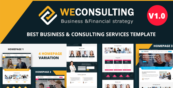 WECONSULTING - Responsive BootStrap Drupal 8 Theme