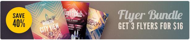 City Flyer Bundle Vol.08