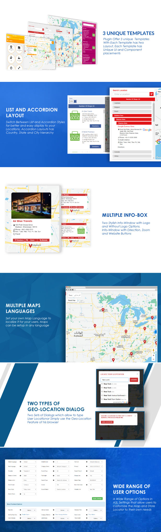 Store Locator (Google Maps) For WordPress - 6
