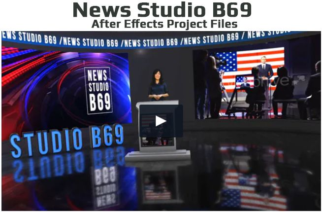 Virtual Studio Set A003 A - 4