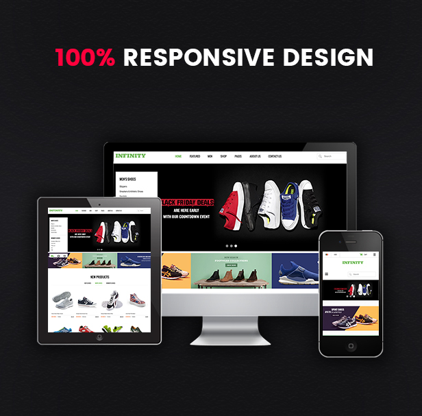Infinity - Fully Responsive