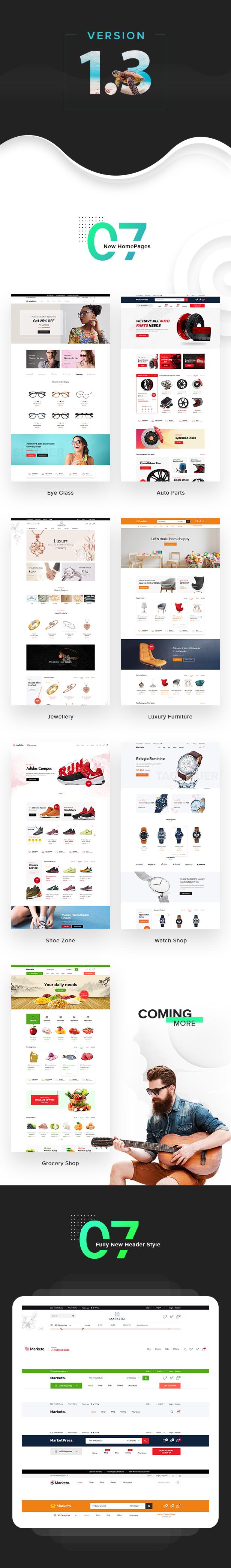 Marketo - eCommerce & Multivendor Marketplace Woocommerce WordPress Theme 5