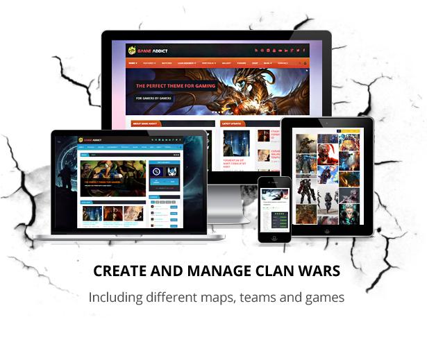 Clan War Gaming Template - 2