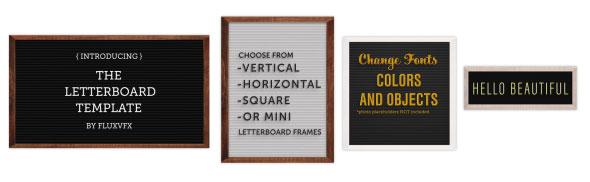 Letter Board Flat Lay Kit - 4