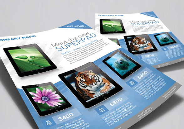 commercial flyers pack 01