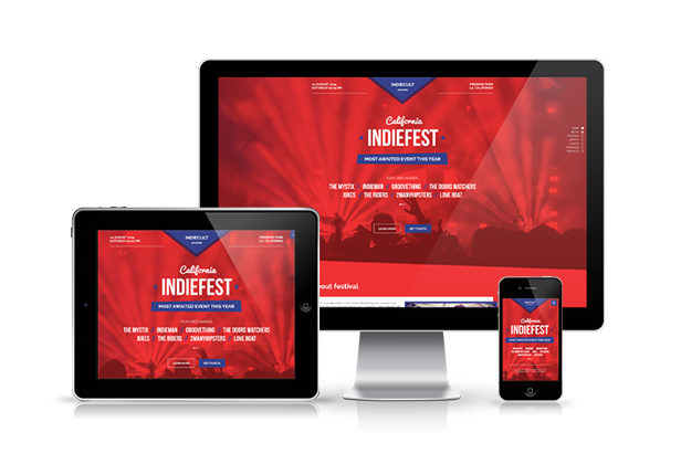 IndieFest - Music Event / Party / Festival Promo Muse Template - 1
