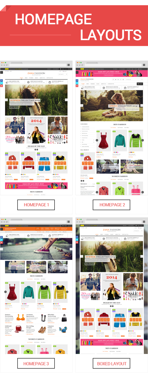 Zana - Homepage