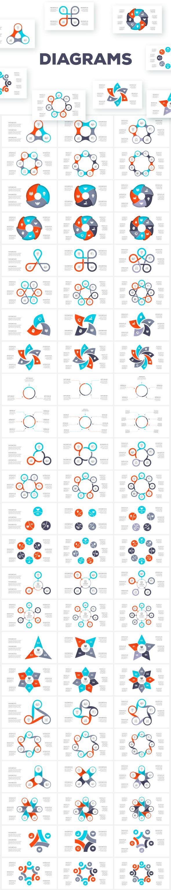 Multipurpose Infographics PowerPoint Templates v.5.0 - 137