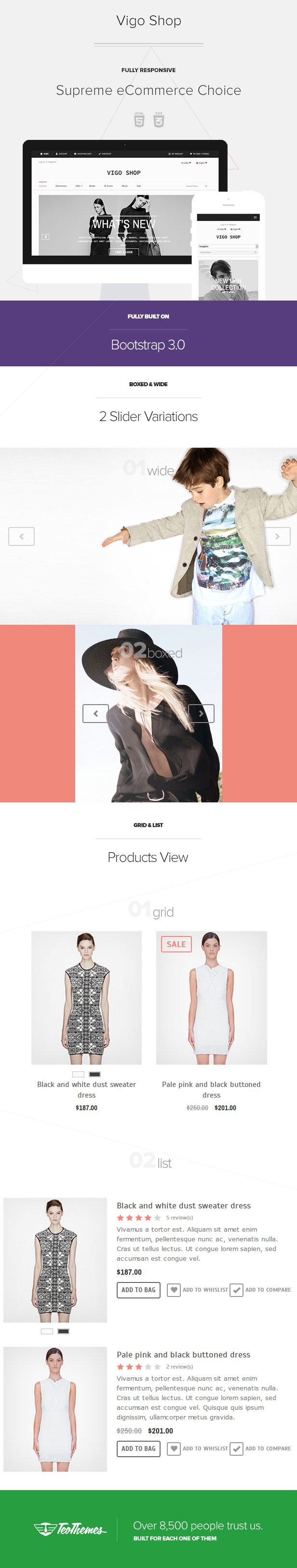 Vigo Shop - Responsive eCommerce Template - 6