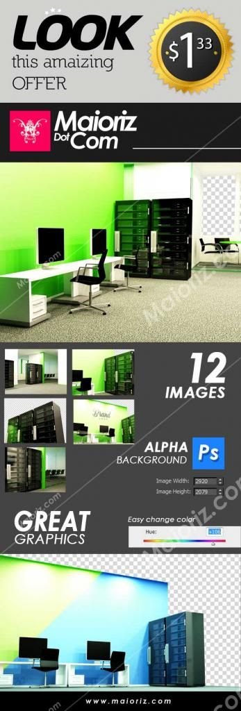 maioriz, design, hosting, server, office, brand, render