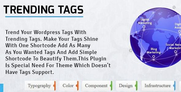 Wordpress Trending Tags Tags Second Image
