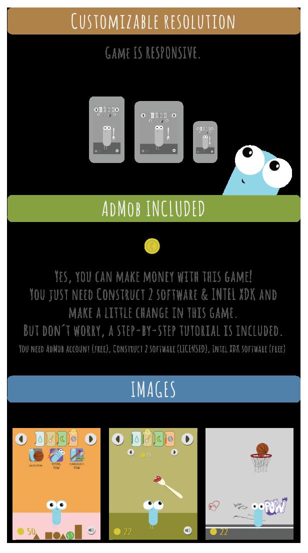 Pow | Tamagotchi like game with AdMob - 10