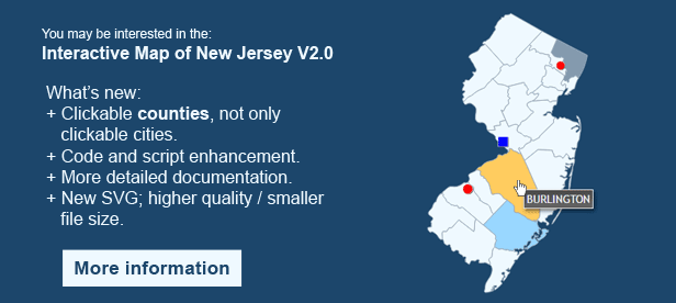 Interactive Map of New Jersey