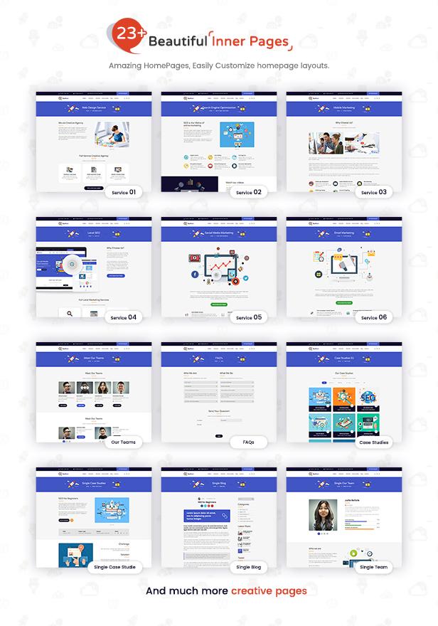SeoPlan & Digital Marketing Agency WordPress Theme - 4