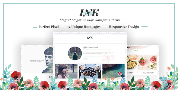 Ink ? Magazine WordPress Theme