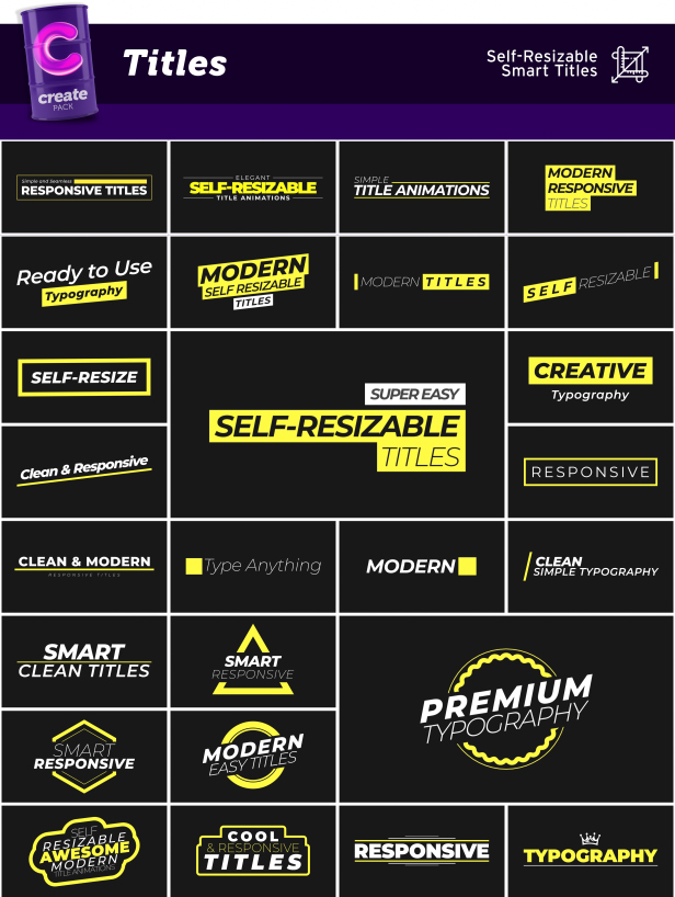Create Pack - 16