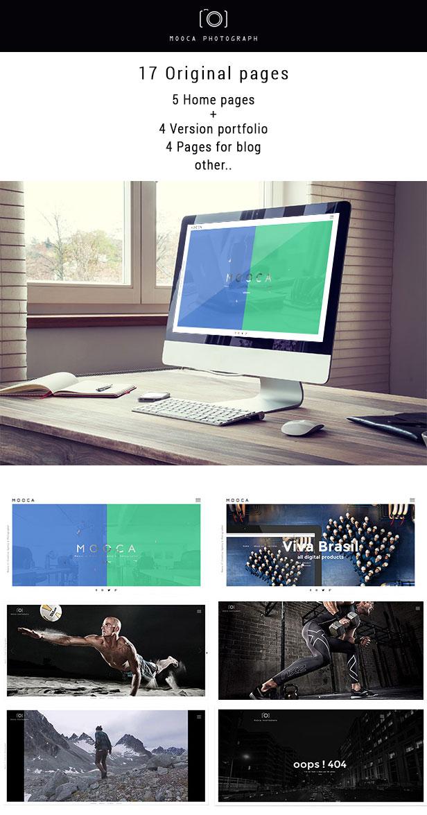 Mooca Creative Agency - Muse template premium