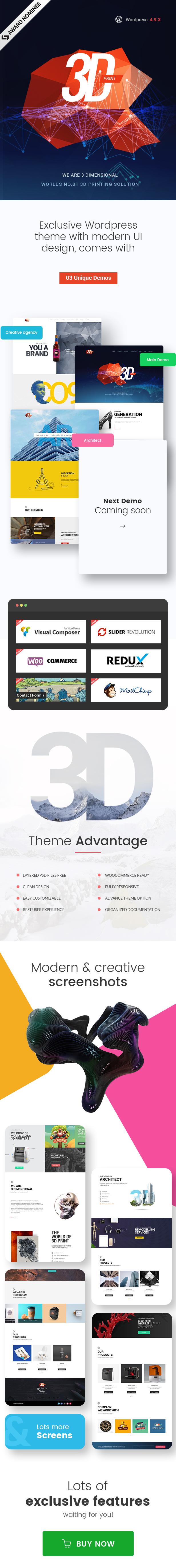 ThreeD | WordPress Theme for Architects, Studios & Agencies - 3