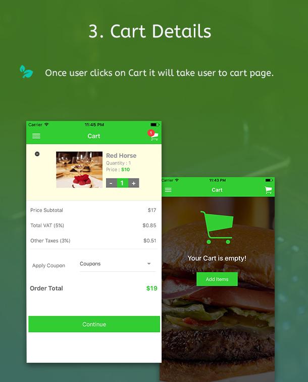 Ionic 3 Restaurant app with Firebase - 7