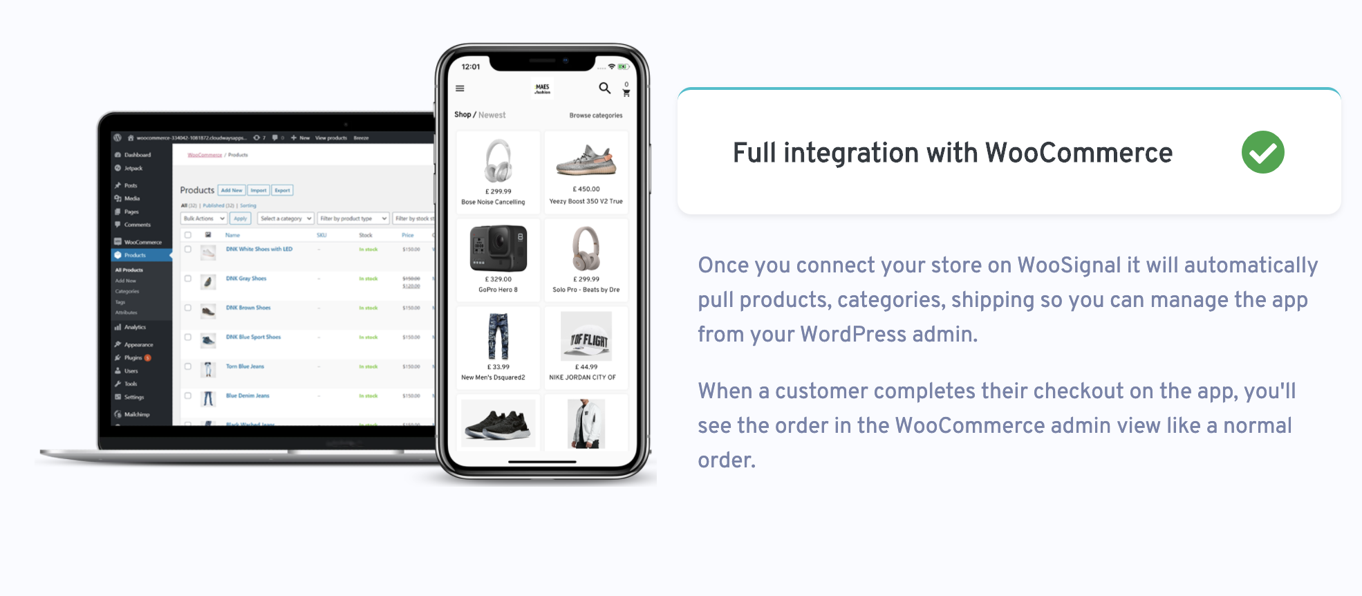 WooMobile - Flutter WooCommerce App Template for IOS and Android - 3
