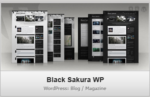Black Sakura WP – Blog / Magazine WordPress Theme