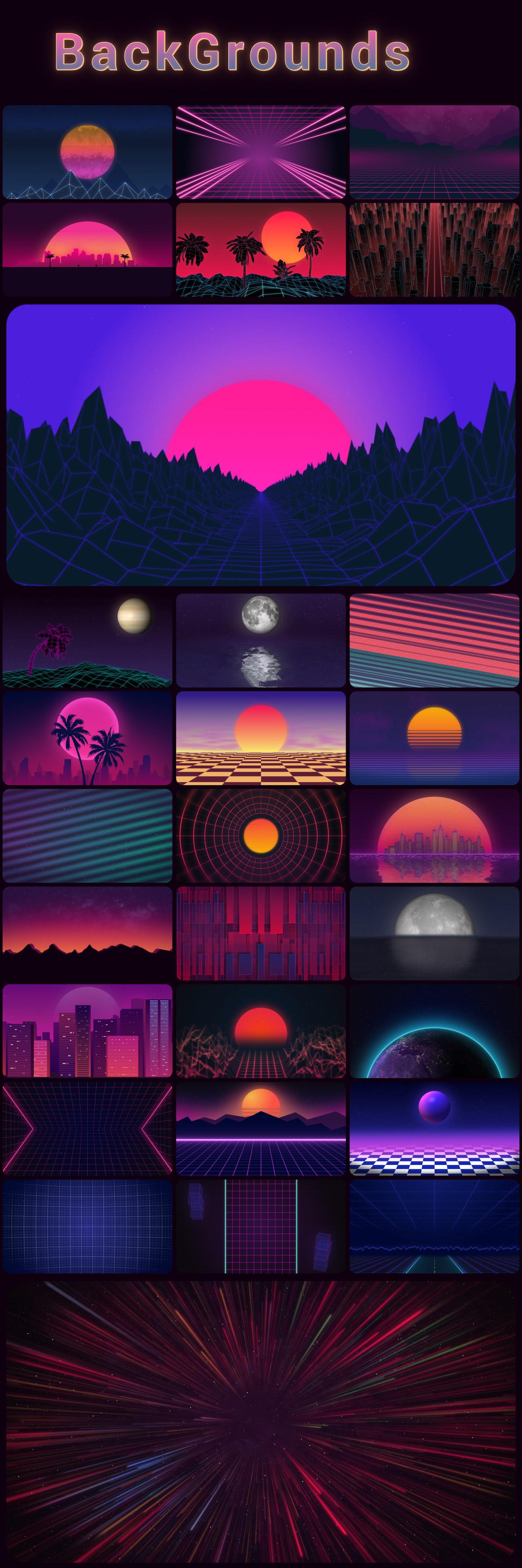 Retrowave Pack - 7