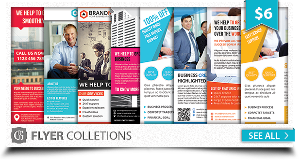 Corporate Creative Business Flyer Vol 10 - 1
