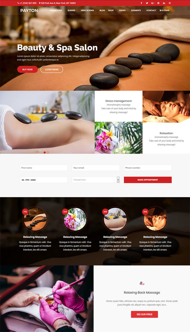 Payton - Business Creative WordPress Theme - 6