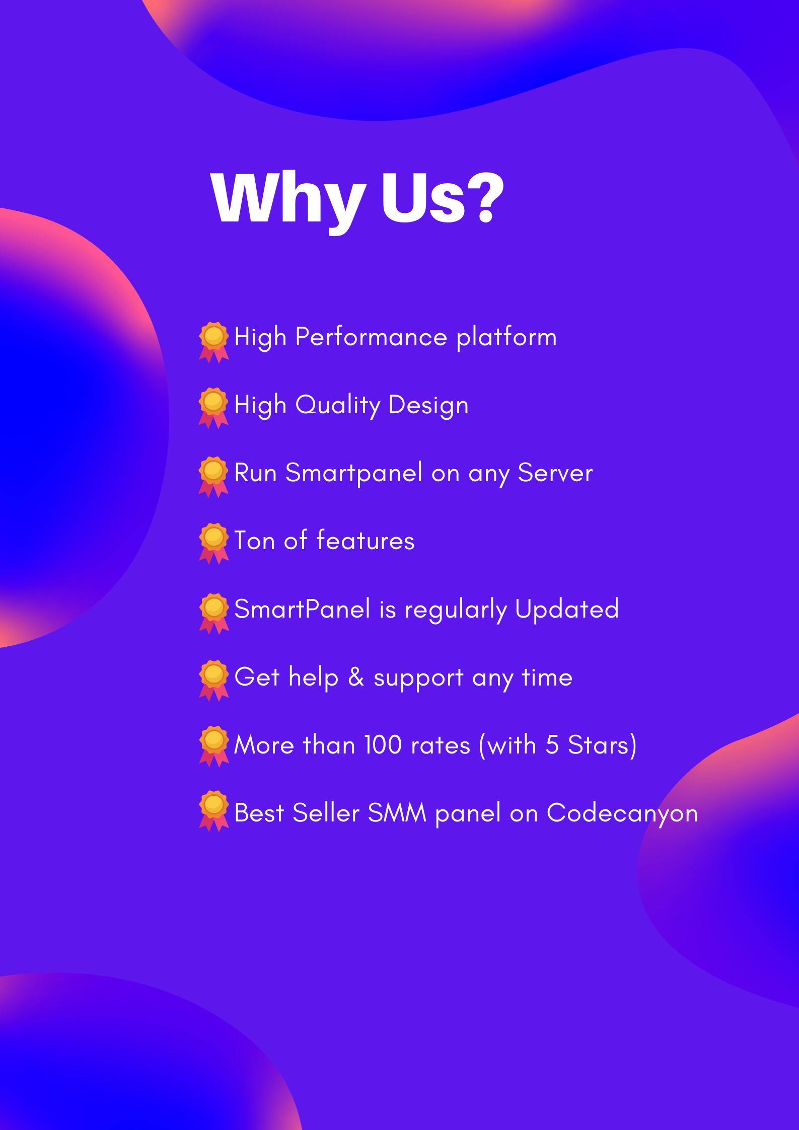 Smartpanel - Why Us